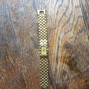 Vintage Bulova Swiss Watch with Diamond